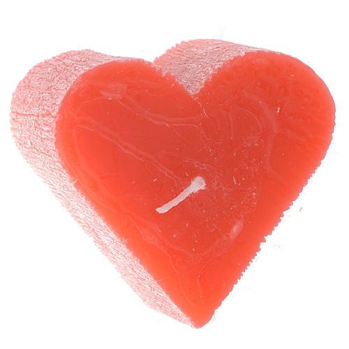 Vela 55x65 mm Coração perfumado 1