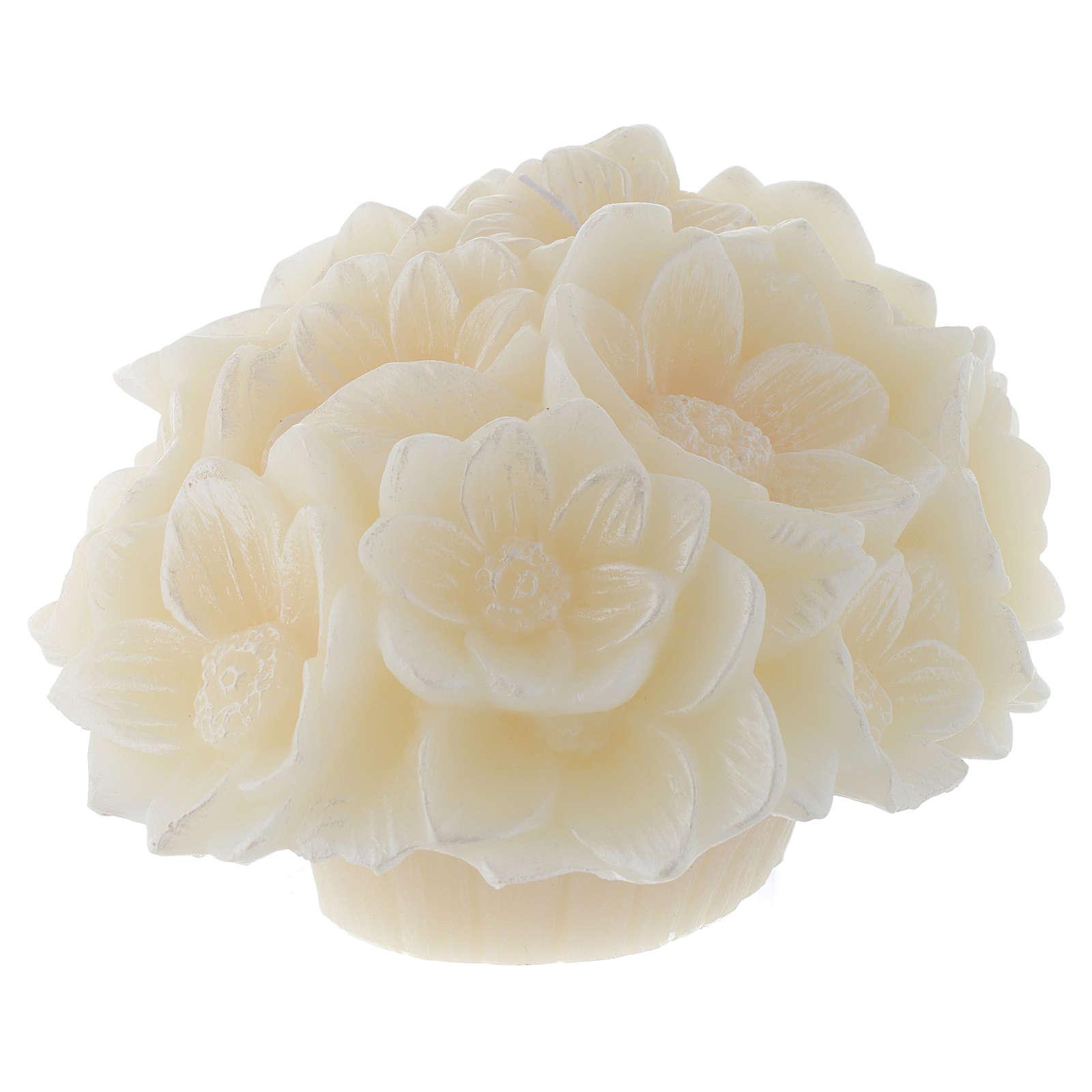 Bougie bouquet fleurs Stylnove 3