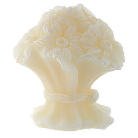 Candle in shape of Bouquet of Flowers s1