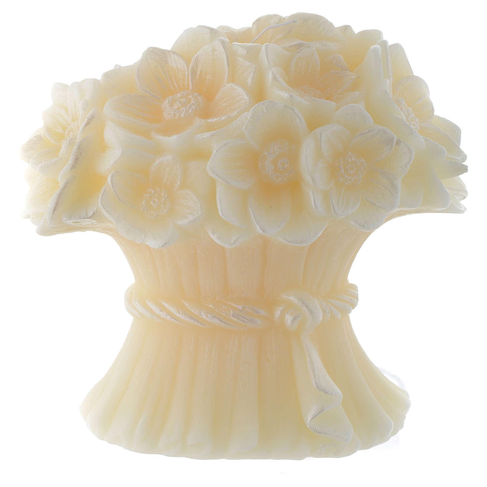 Bougie bouquet fleuri Stylnove 3