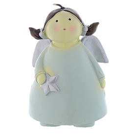 Christmas candle Naïf Angel 13cm s1