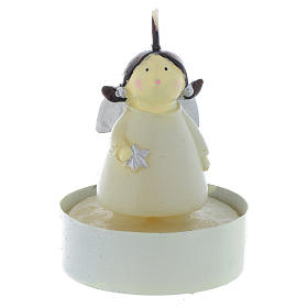 Christmas candles: Christmas candle Naïf Angel, set of 2 pieces