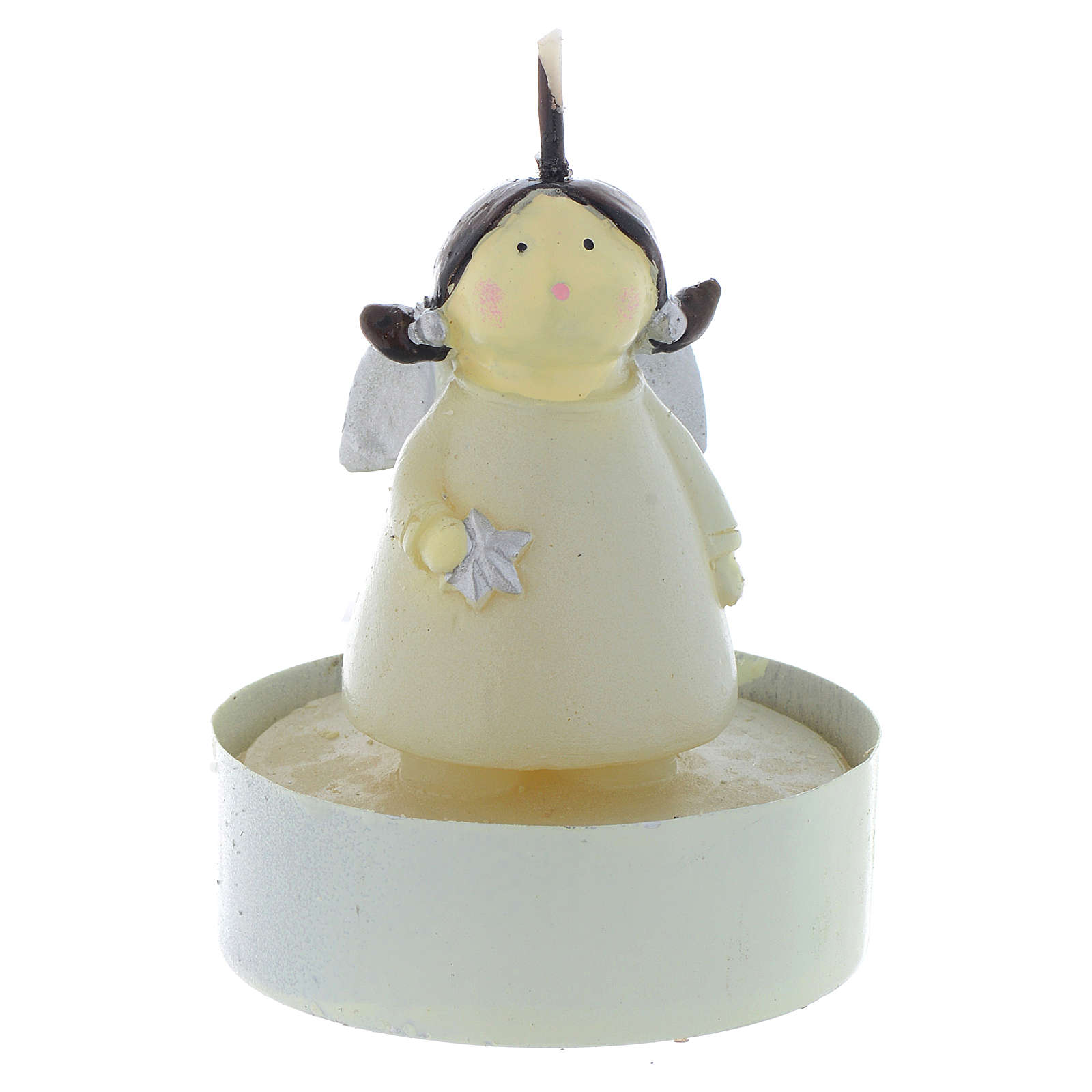 Christmas candle Naïf Angel, set of 2 pieces 3
