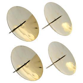 Punzones para velas 4 piezas diám. 7,5 cm s2