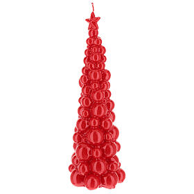Christmas candle Moscow red tree 12 in s2