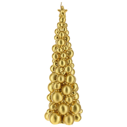 Christmas candle Moscow gold tree 12 in 2