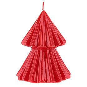 Candela natalizia albero Tokyo rosso 12 cm s2