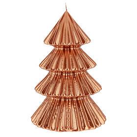 Bougie Noël sapin cuivre Tokyo 23 cm s1