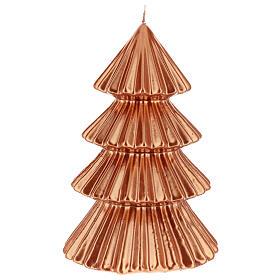 Bougie Noël sapin cuivre Tokyo 23 cm s2