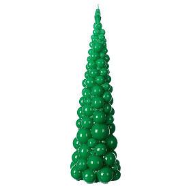Vela navideña árbol Mosca verde 47 cm s3