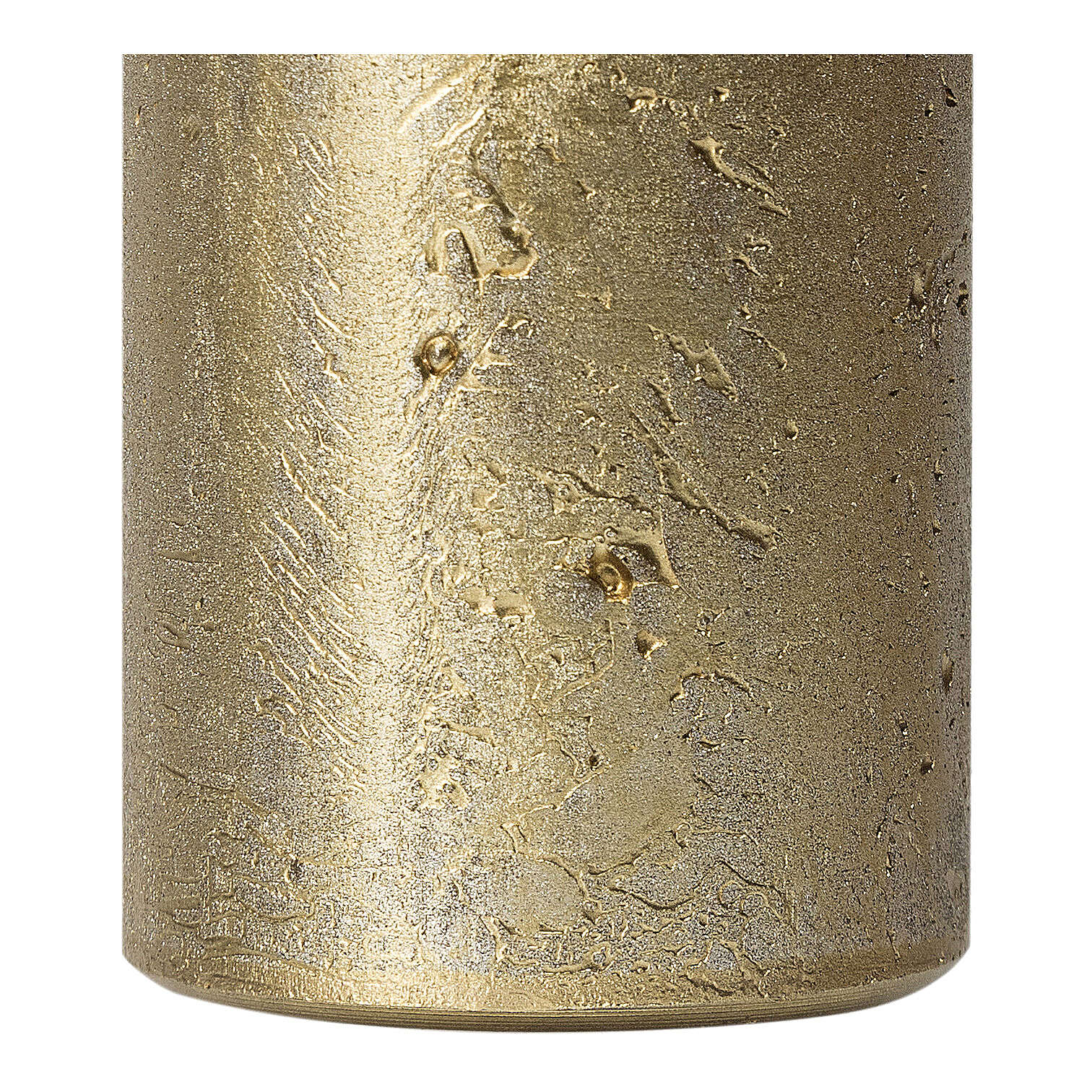Christmas candles, old gold, set of 2, 170x70 mm 3