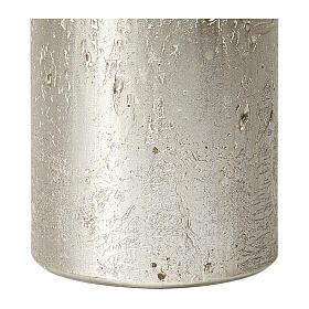 Christmas candles, titanium grey, set of 2, 170x70 mm s3