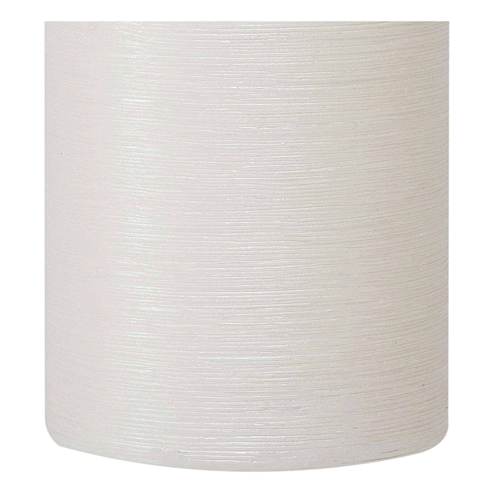 Christmas candles, satin white, set of 4, 150x60 mm 3