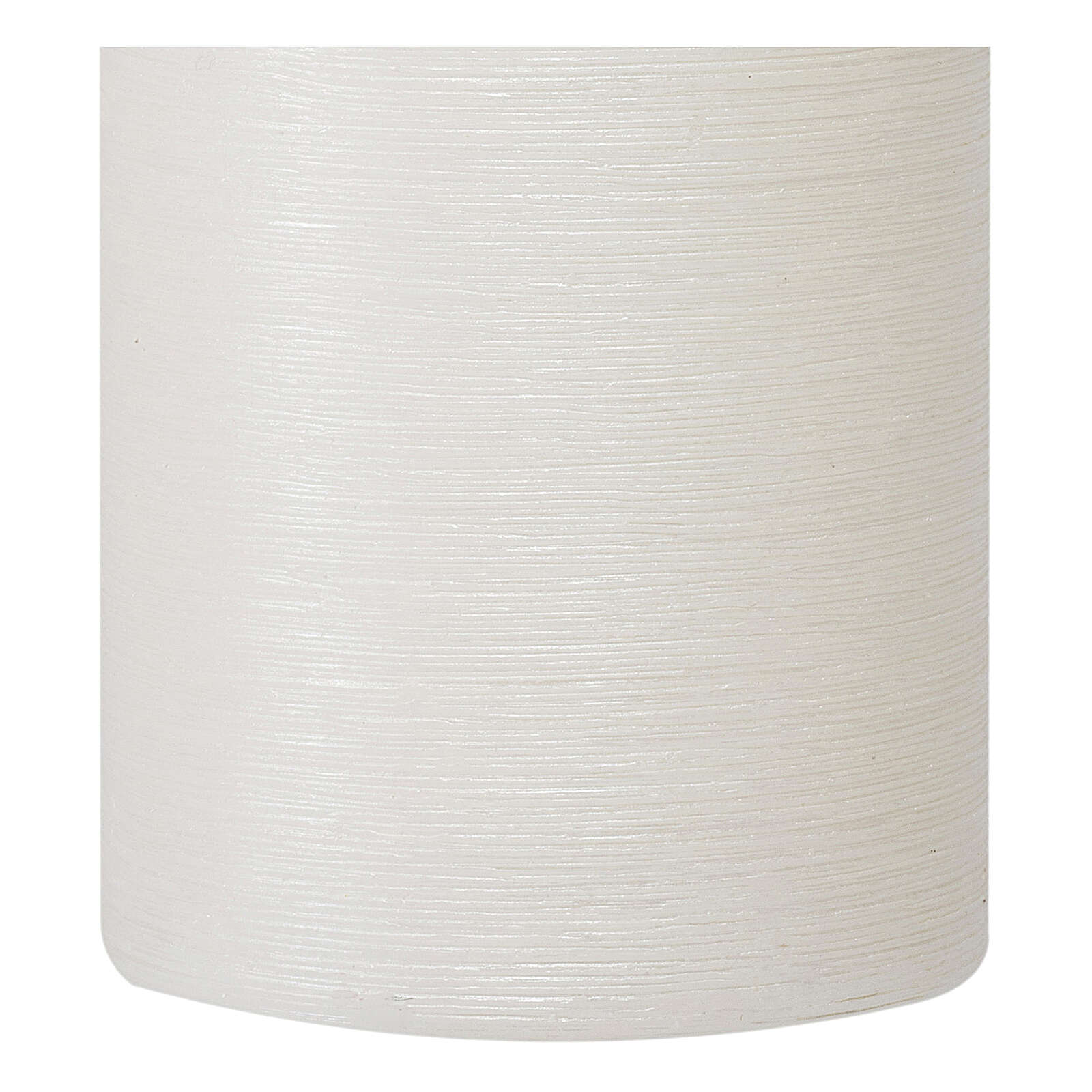 Christmas candles, satin white, set of 4, 130x70 mm 3