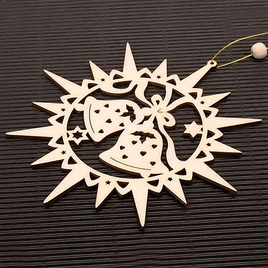 Carved star with bells 4
