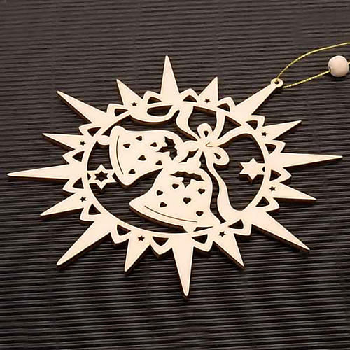 Carved star with bells 2