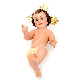 Jésus enfant avec rayons plâtre s4