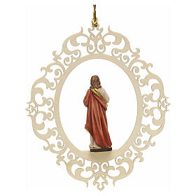 Décoration Noël Sacre coeur de Jésus s2