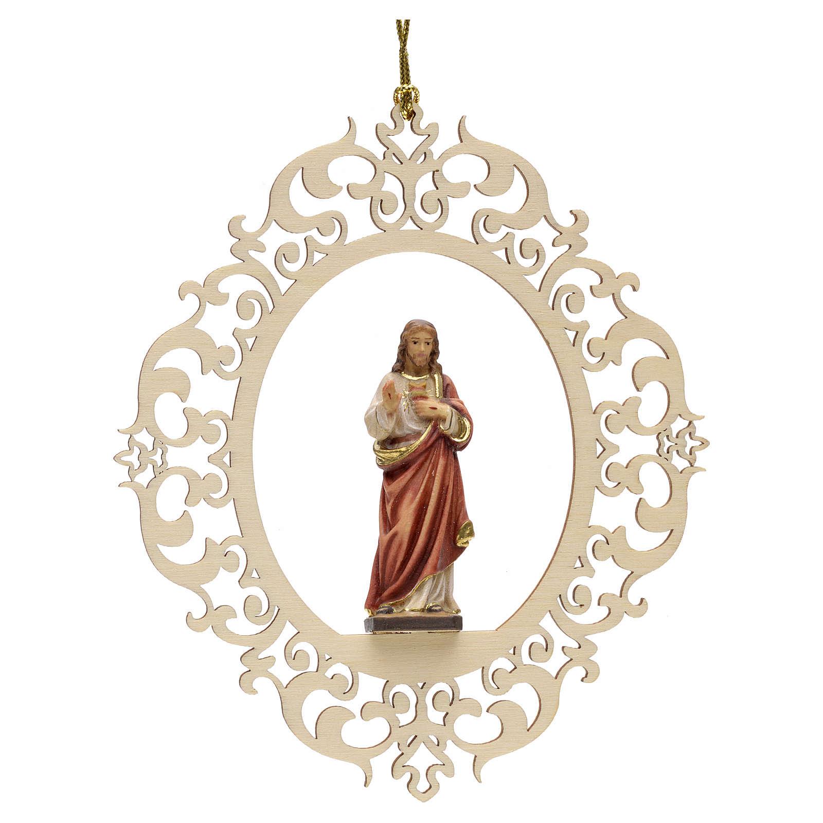 Decoro albero Sacro Cuore di Gesù 4