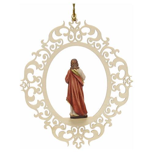 Decoro albero Sacro Cuore di Gesù 2