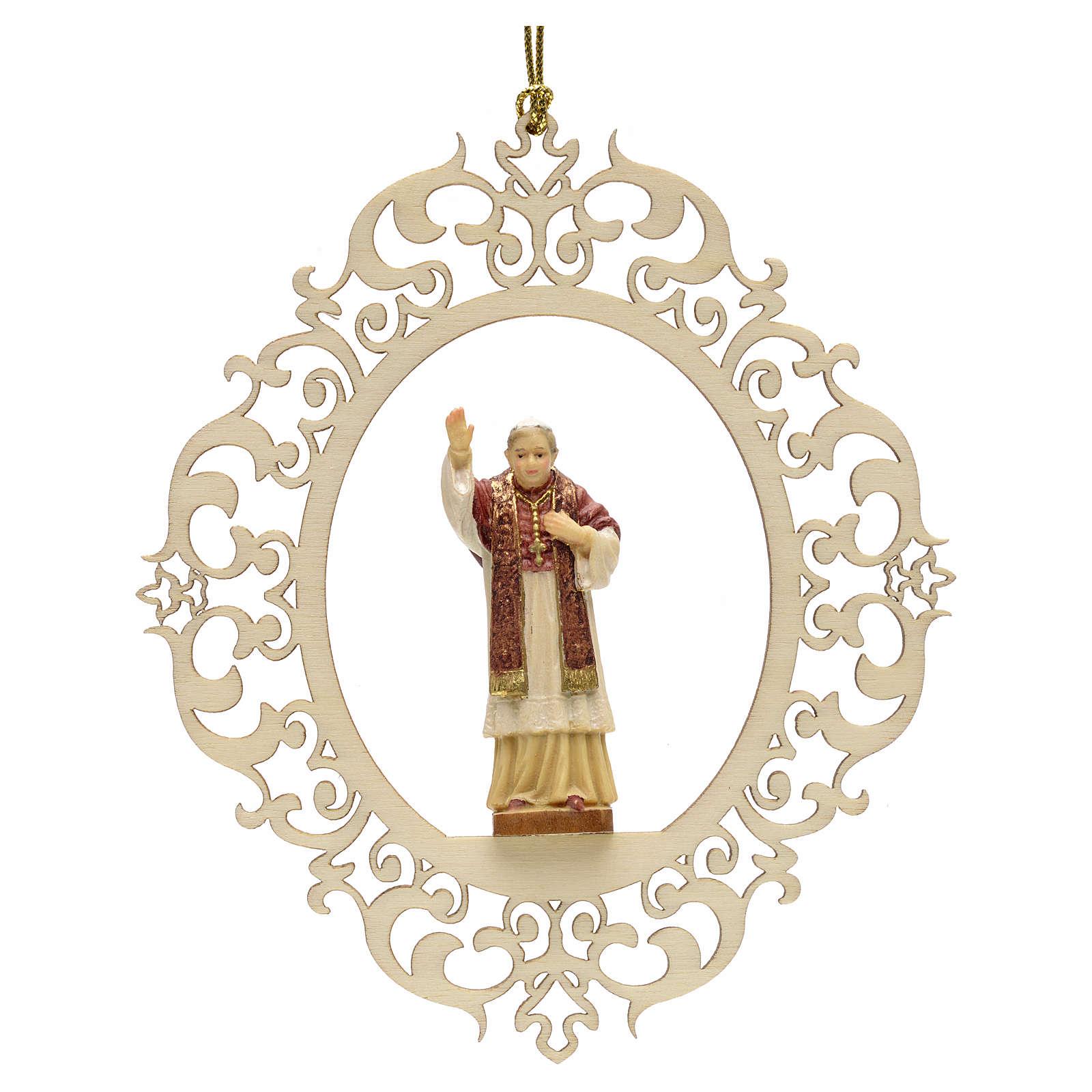 Christmas tree decor Pope Benedict XVI 4