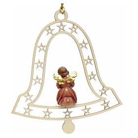 Decoración de Navidad con ángel,  campana  y notas s2