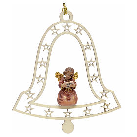 Christmas decor angel and music score on bell s1