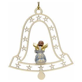 Decoración de Navidad con ángel,  campana  y tromp s2