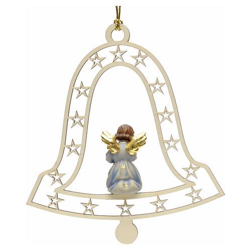 Décoration Noël ange avec trompette cloche 2