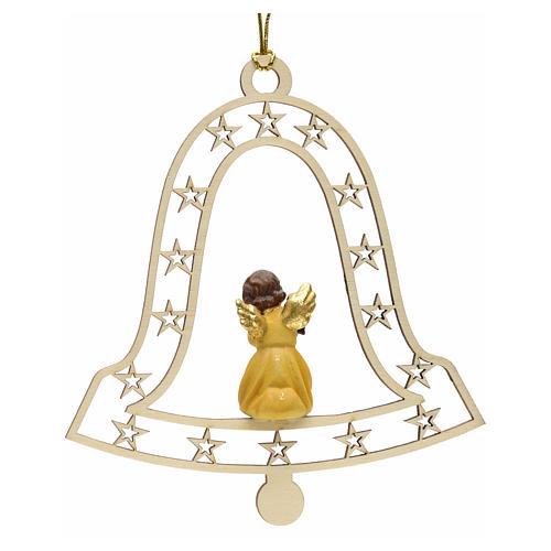 Décoration Noël ange avec lanterne cloche 2