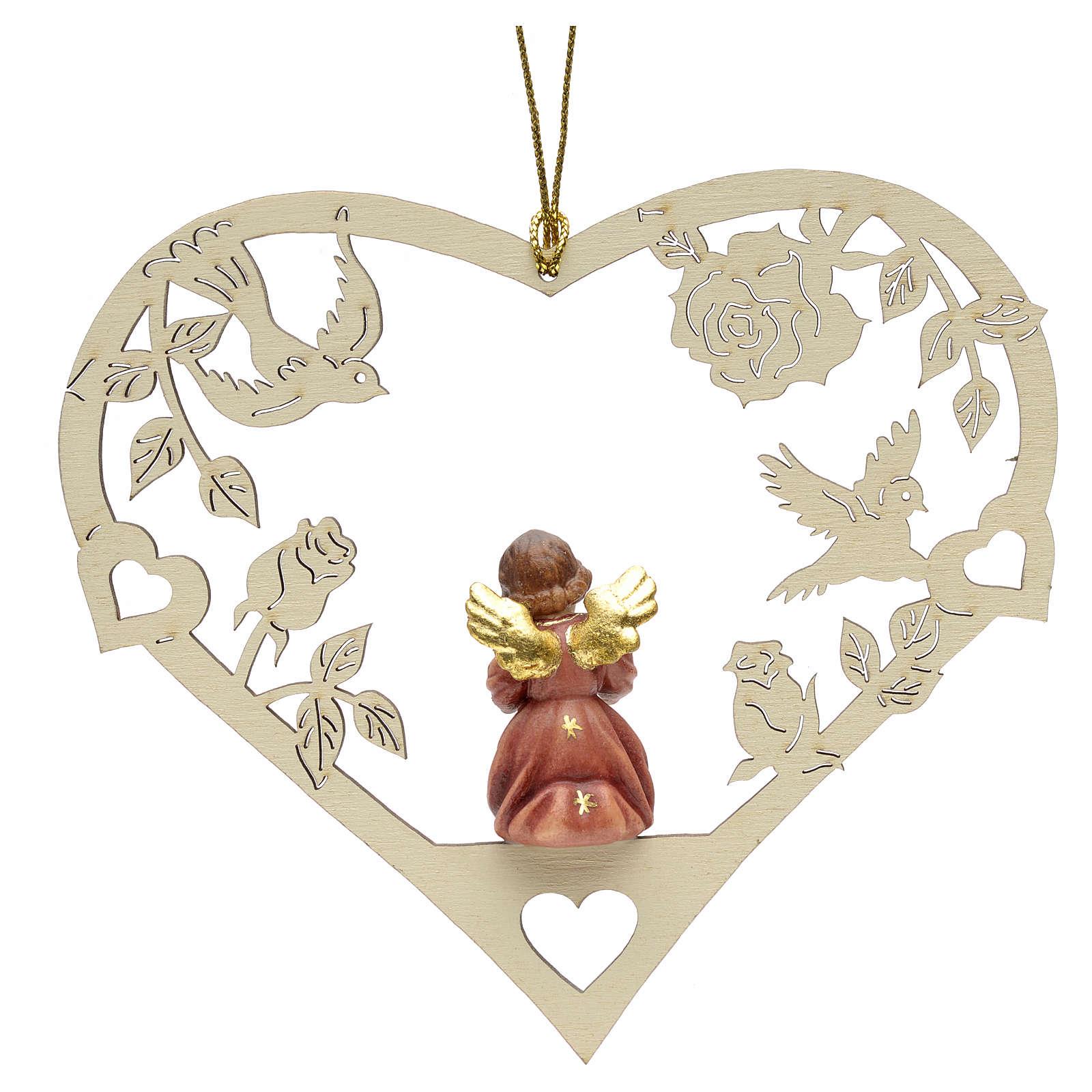 Décoration Noël ange avec partition coeur 4