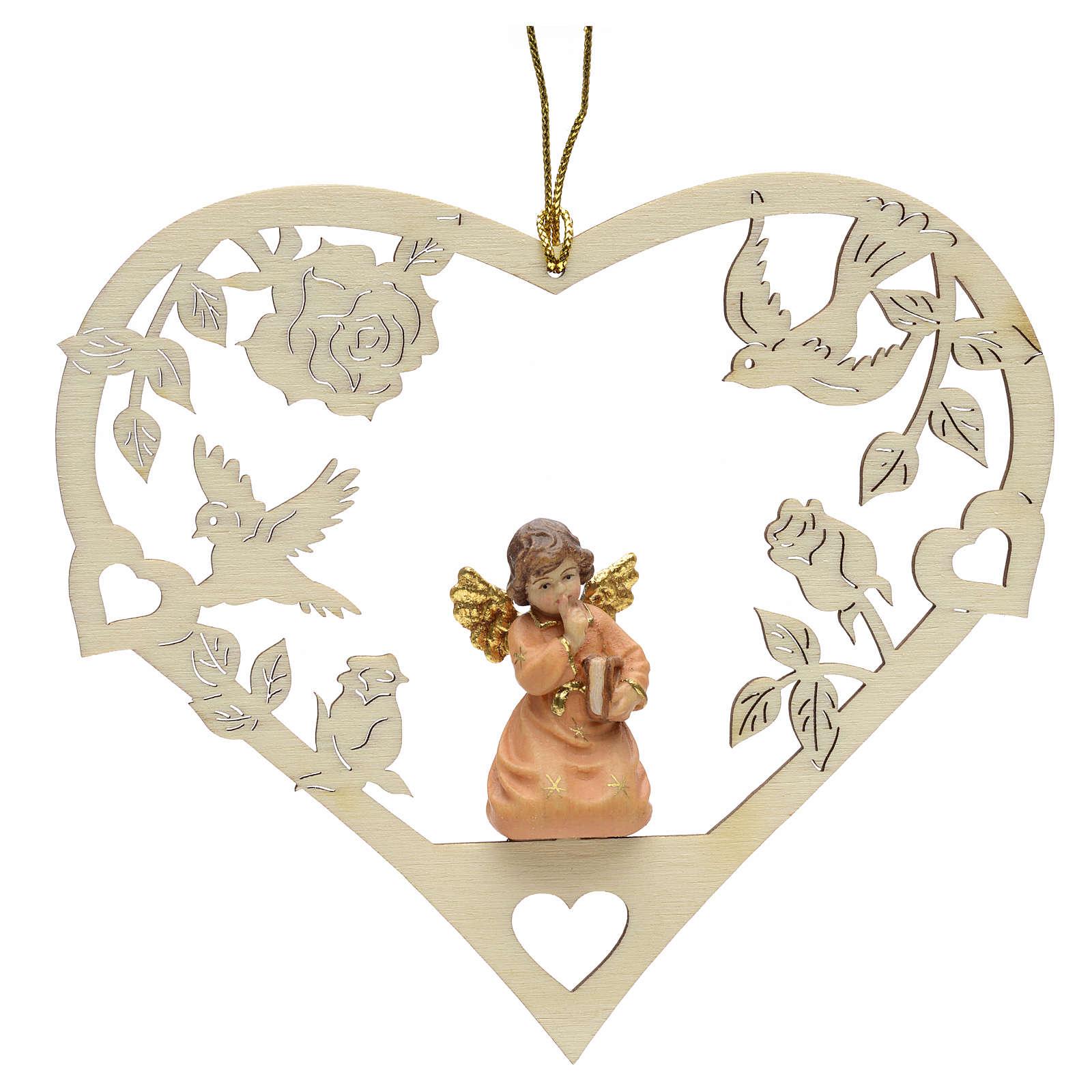 Décoration Noël ange avec livre coeur 4
