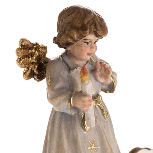 Christmas decor angel with candle star 5