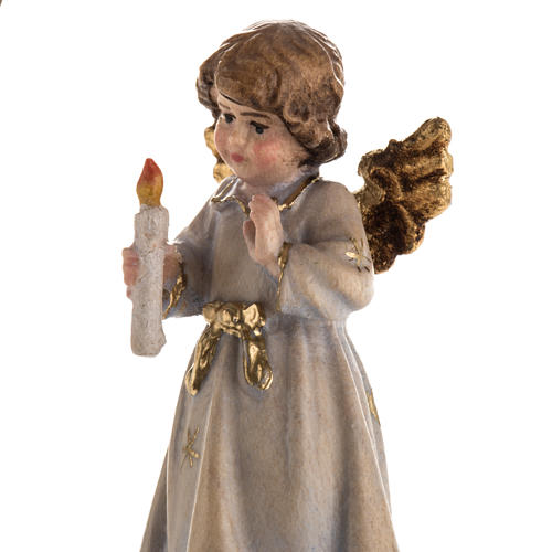 Christmas decor angel with candle star 6