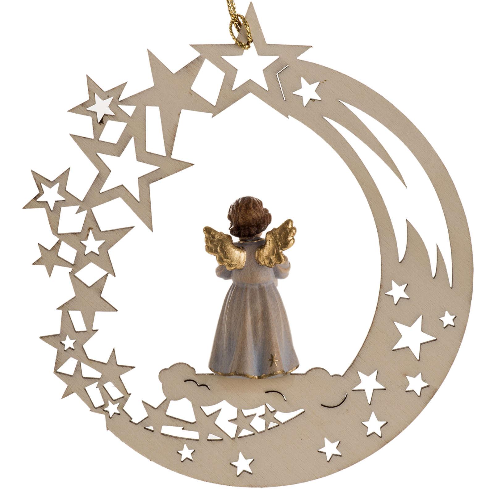 Decoración de Navidad ángel estrella y vela 4