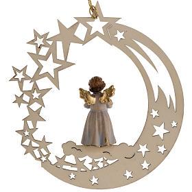 Décoration Noël ange avec bougie étoile s3
