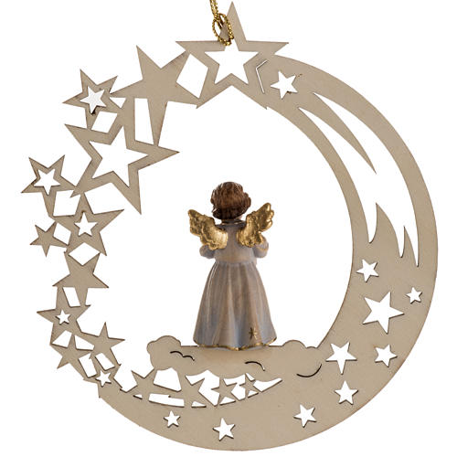 Christmas decor angel with candle star 3