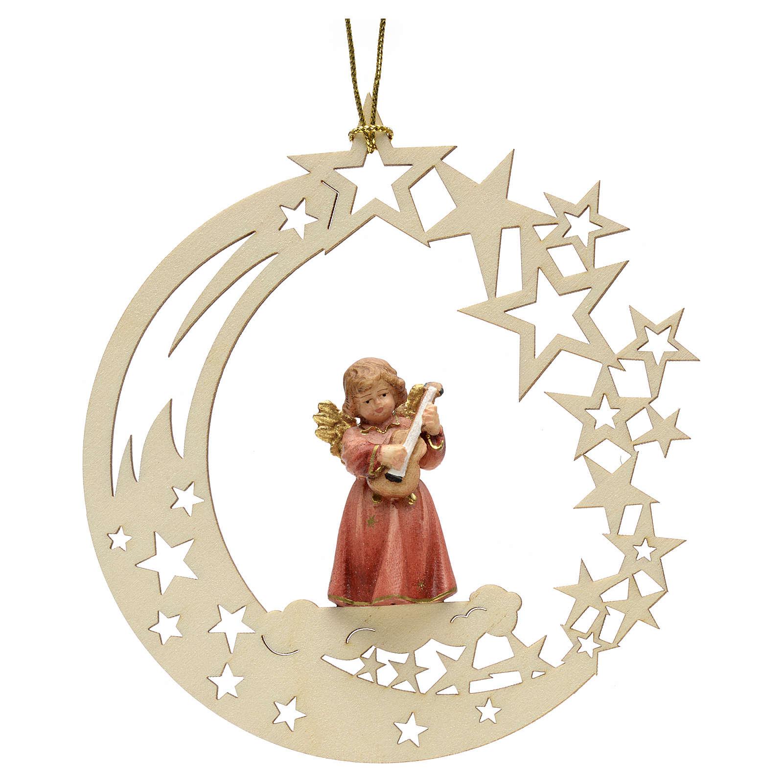 Christmas decor angel with guitar star 4