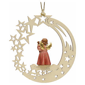 Christmas decor angel with guitar star s2