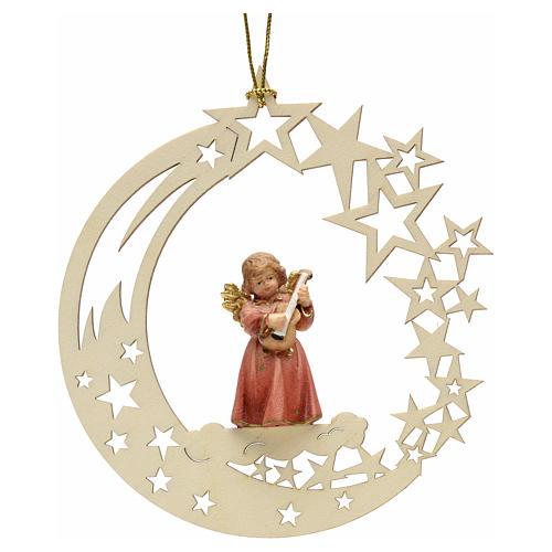 Christmas decor angel with guitar star 1