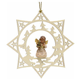 Christmas decoration star angel with pine tree s1