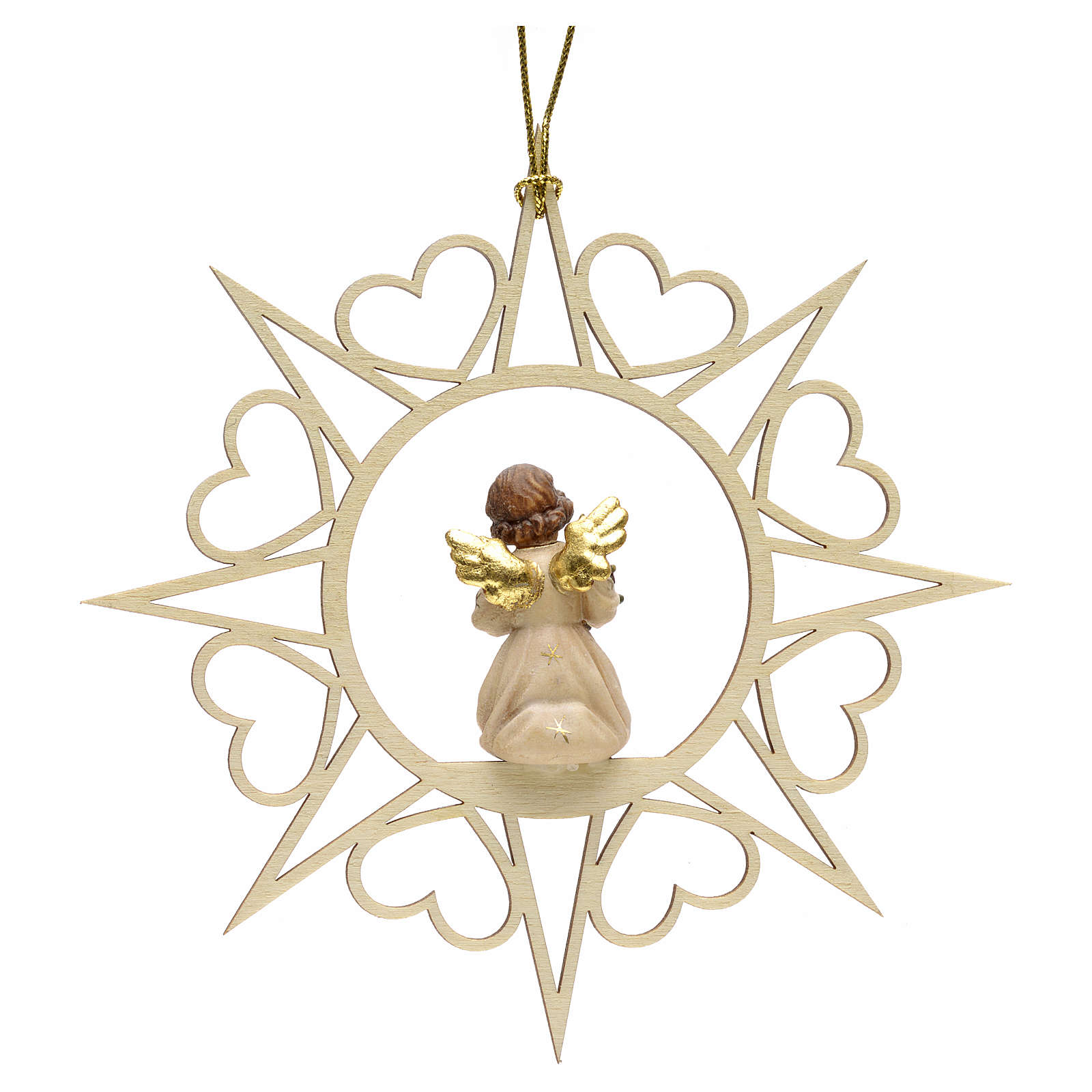 Christmas decoration angel with pine tree 4