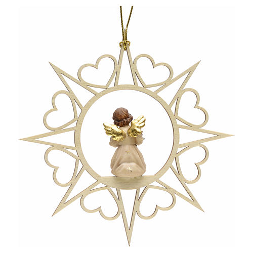 Christmas decoration angel with pine tree 2