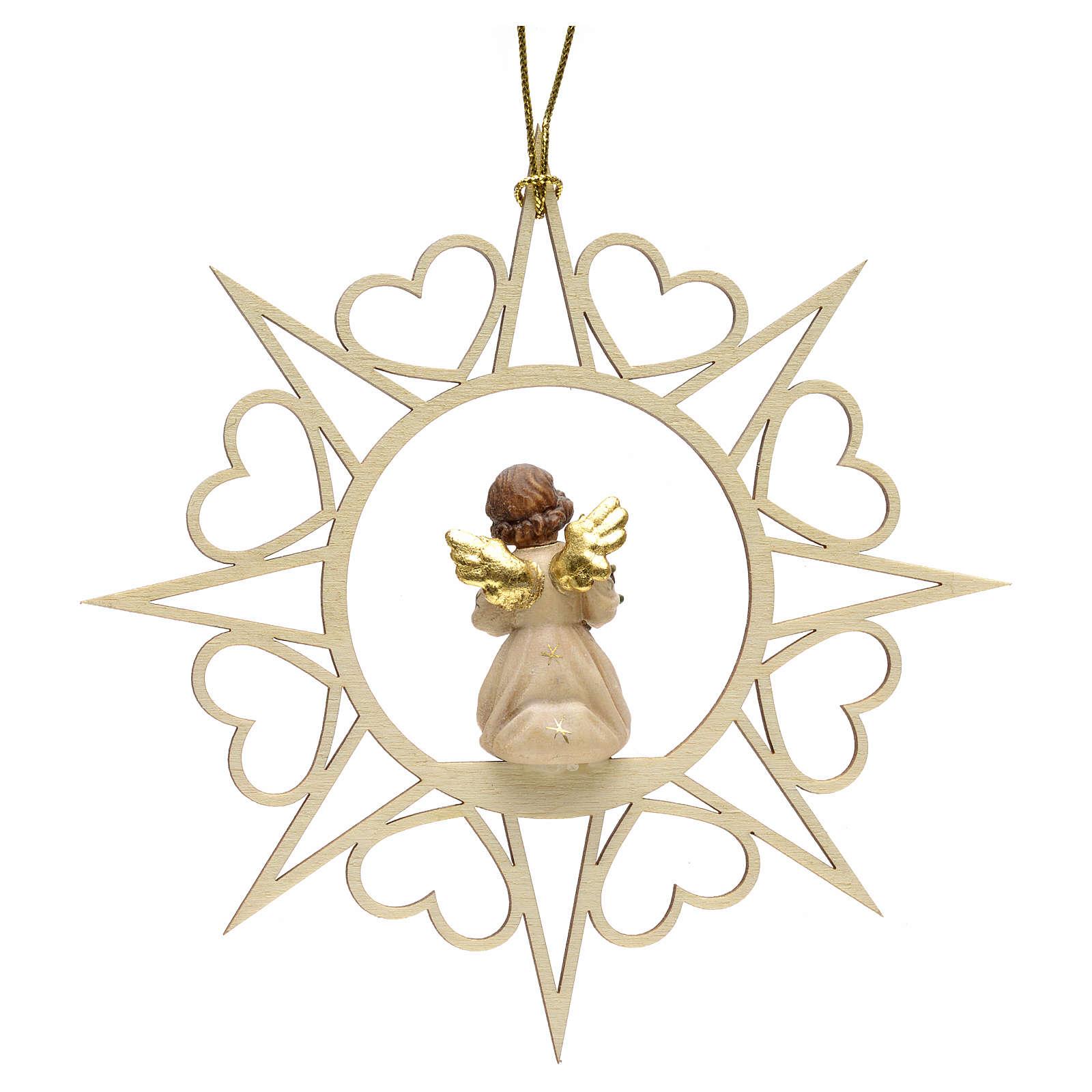 Decoración Ángel con estrellas corazoncitos y arbo 4