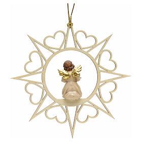 Decoro angelo stelle cuoricini con albero s2