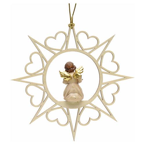 Decoro angelo stelle cuoricini con albero 2