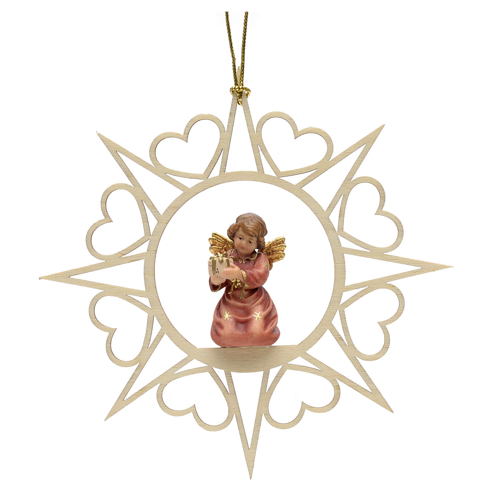 Christmas decoration angel with drum 4