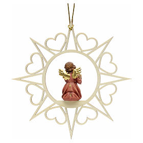 Christmas decoration angel with drum s2