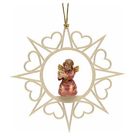 Christmas decoration angel with drum s1