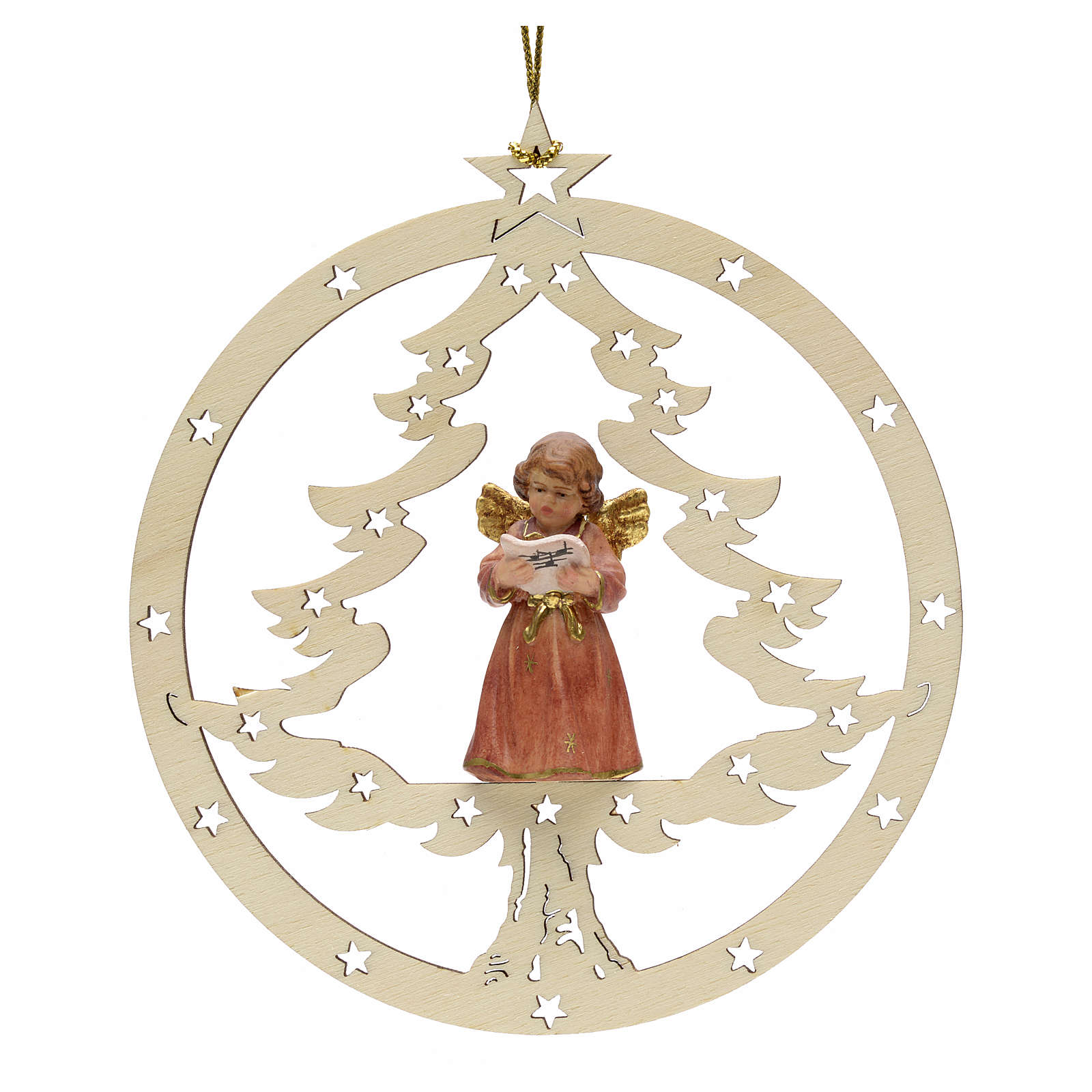 Christmas decor angel with music score 4